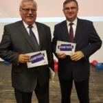 Z Panem Prof. Krystianem Probierzem w trakcie kampanii wyborczej
