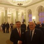 Wspólnie z Panem Senatorem RP Krystianem Probierzem w Pałacu Prezydenckim