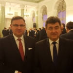 Wspólnie z Sekretarzem Stanu w Ministerstwie Energi Grzegorzem Tobiszowskim