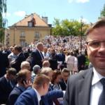 Podczas wizyty prezydenta USA Donalda Trumpa w Polsce