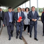 Wizyta Ministra Gospodarki Morskiej i Żeglugi Śródlądowej w Śląskim Centrum Logistyki w Gliwicach