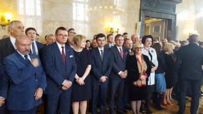 Podpisanie ustawy o związku metropolitalnym w województwie śląskim