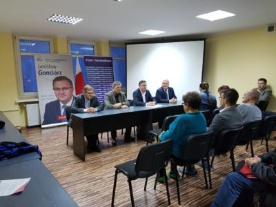 Październikowe spotkanie z członkami oraz sympatykami Prawa i Sprawiedliwości w Gliwicach