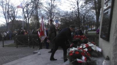Uroczystości Święta Niepodległości w Pyskowicach