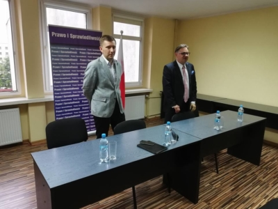 Spotkanie z Posłem Łukaszem Schreiberem
