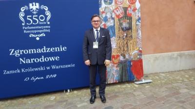 Rocznica 550-lecia Parlamentaryzmu Rzeczypospolitej oraz 100. rocznicy odzyskania Niepodległości przez Polskę