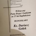 50. urodziny i 25-lecie posługi kapłańskiej proboszcza Parafii Ścięcia św. Jana Chrzciciela w Pilchowicach ks. Dariusza Gołka