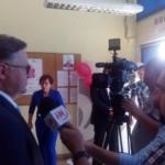Uroczyste otwarcie nowego Urzędu Pocztowego w Gliwicach na Koperniku przy ul. Centaura 29