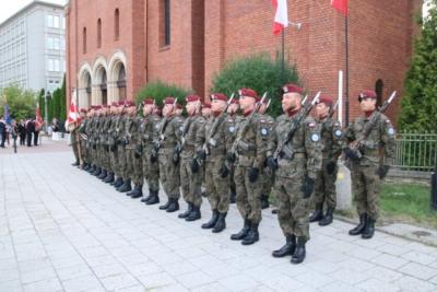 Obchody Święta Wojska Polskiego w Gliwicach