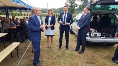 Dożynki Sołeckie Gminy Pilchowice w Kuźni Nieborowskiej oraz Leboszowicach