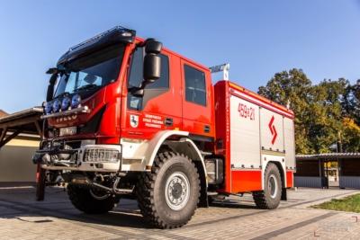 Nowy wóz bojowy dla Ochotniczej Straży Pożarnej w Pilchowicach