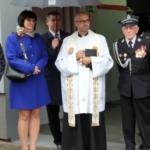 Uroczyste poświęcenie samochodu gaśniczego OPLA MOVANO Ochotniczej Straży Pożarnej w Knurowie