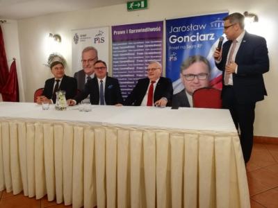 Opłatkowe spotkanie Prawa i Sprawiedliwości w Gliwicach