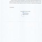 Odpowiedź na moją interwencję w sprawie Oddziału PKO Banku Polskiego w Sośnicy