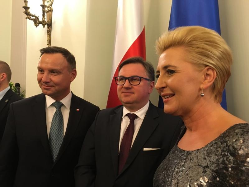 Spotkanie z Prezydentem RP i Pierwszą Damą w Pałacu Prezydenckim