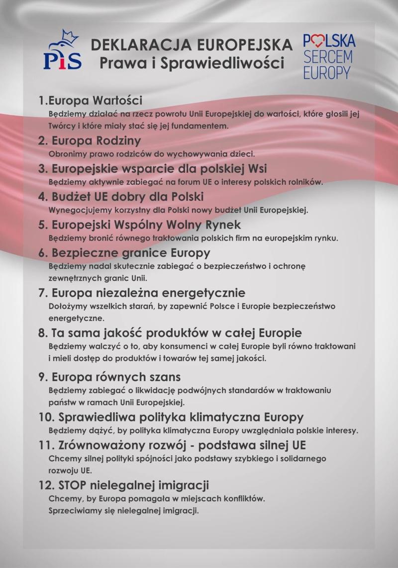 Deklaracja Europejska Prawa i Sprawiedliwości