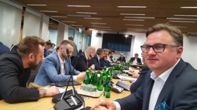 Posiedzenie komisji cyfryzacji, innowacyjności i nowoczesnych technologii oraz infrastruktury