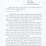Moja interwencja poselska oraz odpowiedź w sprawie modernizacji czołgów T-72 w Zakładach Mechanicznych Bumar-Łabędy S.A