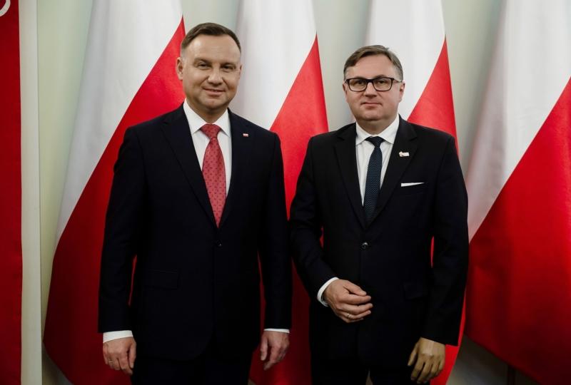 Spotkanie z Prezydentem RP Andrzejem Dudą w Pałacu Prezydenckim