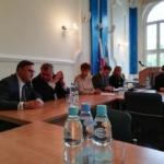 Posiedzenie Komisji Infrastruktury, Rolnictwa i Rozwoju Rady Powiatu Gliwickiego w Starostwie Powiatowym w Gliwicach