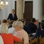 Spotkanie Klubu Parlamentarnego PiS z udziałem premiera Mateusza Morawieckiego
