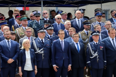 Wojewódzkie Obchody Święta Policji w Katowicach