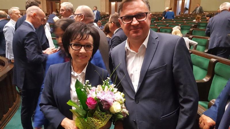 Bezwzględną większością głosów Marszałkiem Sejmu została wybrana Poseł Elżbieta Witek