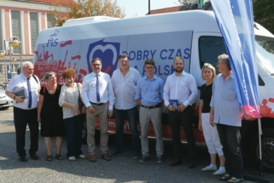 PiS-bus odwiedził dziś Gliwice