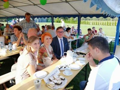 Uroczystości dożynkowe w Kuźni Nieborowskiej i Stanicy