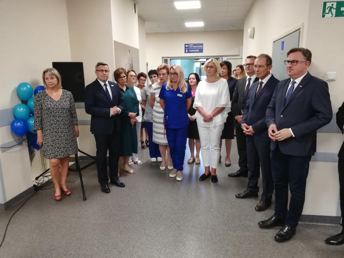 Uroczyste otwarciu nowowyremontowanego bloku porodowego w gliwickim Szpitalu Wielospecjalistycznym