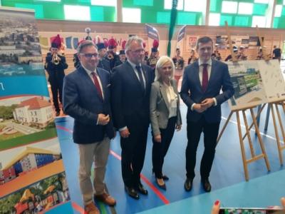 Otwarcie hali sportowej w Knurowie