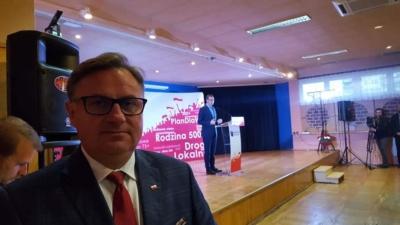 Na zaproszenie mojego przyjaciela Posła na Sejm RP Jerzy Polaczek, uczestniczyłem dziś w spotkaniu z premierem Mateuszem Morawieckim w Piekarach Śląskich