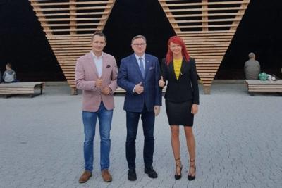 Dziękuję radnym z Knurowa Ewelina Maj oraz Paweł Szkatuła za wsparcie mojej kandydatury