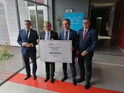 Nowa, najnowocześniejsza karetka dla mieszkańców i Stacji Pogotowia Ratunkowego w Gliwicach