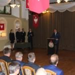 """Uroczyste przekazanie promes w ramach """"Dofinansowania jednostek Ochotniczych Straży Pożarnych"""" jednostkom OSP"""